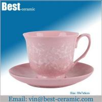Wholesale Ceramic cup&saucer ceramic espresso cup and saucer from china suppliers