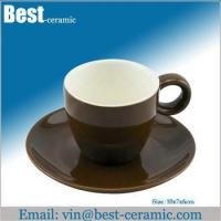 Wholesale Ceramic cup&saucer ceramic espresso cup saucer from china suppliers