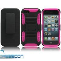 Wholesale NEW RUGGED TOUGH CASE COVER & BELT CLIP HOLSTER W/KICKSTAND FOR APPLE IPHONE 5 from china suppliers