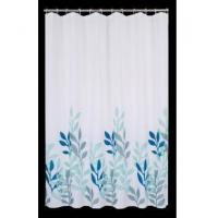 Wholesale Fabric Shower Curtains Chinese Picture Waterweed Shower Curtain T3008 from china suppliers