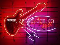 China Rock&Roll Guitar Neon Sign wholesale
