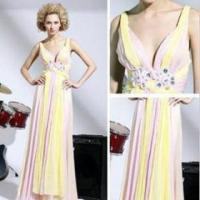 Wholesale The new elegant long evening dress gown section variegated from china suppliers