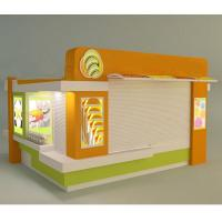 L-Custom Retail New Style Sushi Kiosk with Sushi Bar Counter Design