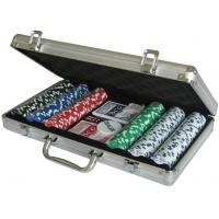 Wholesale Cards Poker 300 poker chip set 20115 300pcs Poker Chips Game Set from china suppliers