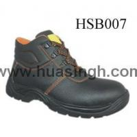Hotselling Product embossed leather anti-hit safety work boots