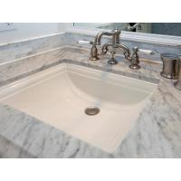 Wholesale Porcelain Square Undermount Bathroom Bowl from china suppliers
