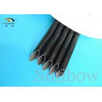 High Voltage Silicone rubber fiberglass sleeving inside fiber and outside rubber