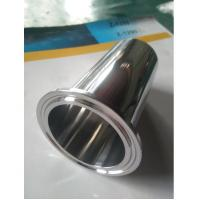 Solid 2x4 Stainless Steel Expanded Clamp Ferrule, Food Grade Triclover Ferrule