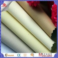 Wholesale Anti-scratch litchi grain pattern fabric textile leather for sofa upholstery in China suppliers from china suppliers