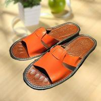 Wholesale Comfortable cool leather slipper indoor/outdoor from china suppliers