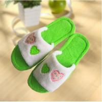 Wholesale Hot sale decoration tpr sole antislip woman fluffy slipper from china suppliers