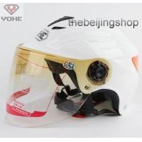Wholesale Scooter Motorcycle helmet w/ Lens, Reflective sticker from china suppliers