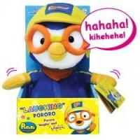 Laughing Pororo Plush Toy (9 inches)