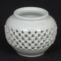 Wholesale Double-ware White Porcelain Jar from china suppliers
