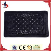 Wholesale Soft flannel embossed bath rug from china suppliers