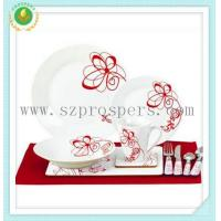 Wholesale Round shape set 44pc set with placemat&cutlery from china suppliers