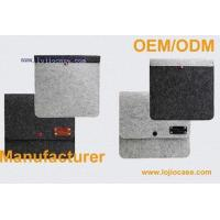 Wholesale iPad mini Case Wool Felt Stand Leather Case from china suppliers