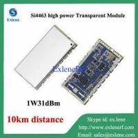 Wholesale 10km long distance 1W 31dBm Si4463 high power rf transparent transceiver module from china suppliers
