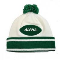 Wholesale Smart casual pattern winter sport warm knitted beanie hat from china suppliers