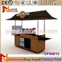 Unique design coffee mobile cart with competitive factory price