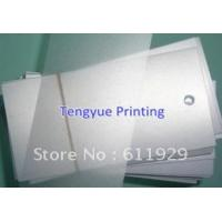 Wholesale plastic pp card from china suppliers