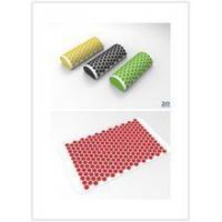 Deluxe Back Plastic Spike Massage Mat, back massage with spike pillow and foam roller, three in one