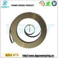 Wholesale electrical equipment flat wire spiral torsion springs for rewinder from china suppliers