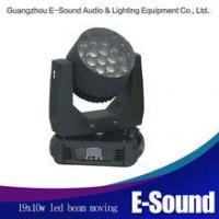 Wholesale 19x10w led moving head zoom lights moving head stage light from china suppliers