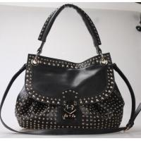 Wholesale girls leather backpack bags black from china suppliers