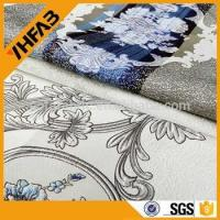 Wholesale new design 100% polyester jacquard curtain fabric for upholstery from china suppliers