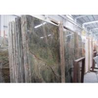 Top Quality Natural Rain Forest Green Marble Slab