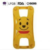 Wholesale 3D Cute Pooh Bear silicone case/Universal silicone case from china suppliers