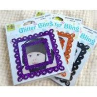 Wholesale Glitter bling photo frame sticker from china suppliers