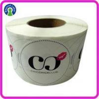 Label of Graded Good transparent White pvc sticker Club Logo Name bopp custom stickers labels