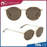 Wholesale Cool Retro Fashion Metal Round Frame Sunglass Vintage from china suppliers