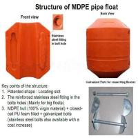Wholesale Durable MDPE floater for dredging pipe industrial / industrial floater from china suppliers