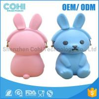 Wholesale 2017 lastest silicone bunny carton purse for kids and girls from china suppliers