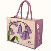 Woodland Trust bluebell juco bag
