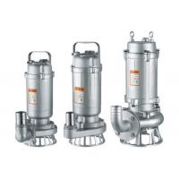 WQ(D) -S Stainless steel submersible sewage pump