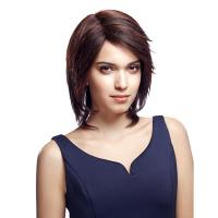 Buy cheap Wig Rebecca Ombre Human Hair Medium Silky Straight 13 Inch from wholesalers