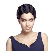 Buy cheap Wig Rebecca Short Wavy Virgin Hair Curly Wave Pixie Wig 8.5 Inch from wholesalers