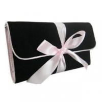 Quality velvet cosmetic bag