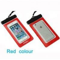 6 color avaliable hot sales TPU waterproof smartphone cell phone case bag ipx8 for iphone 6s