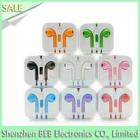 iPhone earphone with mic and volume control