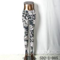 Wholesale Gary Cheetah Leopard Spot Animal Print Leggings Pants from china suppliers