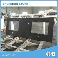 Wholesale Artificial Black Quartz Stone Kitchen Counter Tops from china suppliers