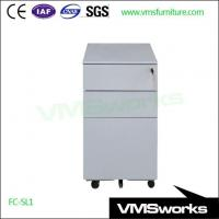 Wholesale Customized Slimline Mobile Pedestal with 5th Casters for Australia Market from china suppliers