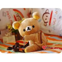 China San-X Rilakkuma Relax Mini Brown Bear Mini Backpack Bag Doll Shoulder Bag wholesale