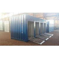 Wholesale 20ft motorcycle trunk room container with shutter door from china suppliers