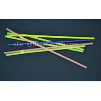 China 5mm Long Colored Plastic Soft Flexible Drinking Straws/Bent Soft Neon Plastic Straws wholesale